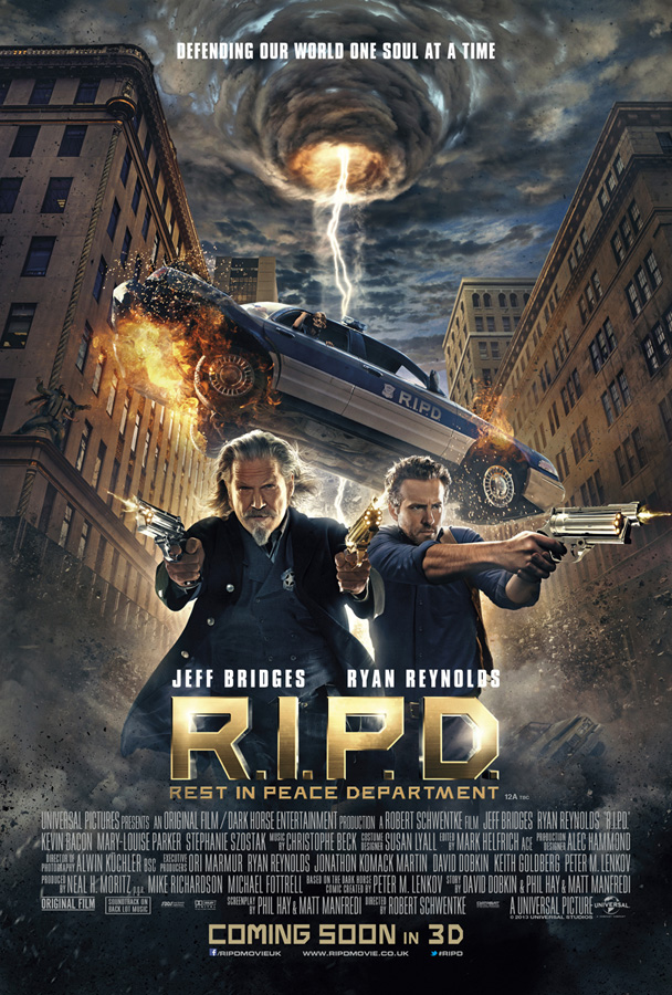 """Poster from """"R.I.P.D."""""""