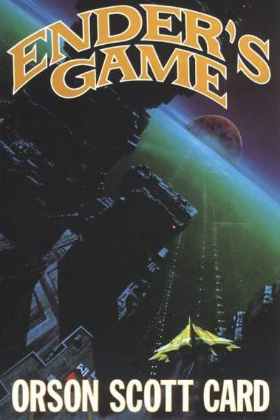 "Cover for ""Ender's Game"" by Orson Scott Card."