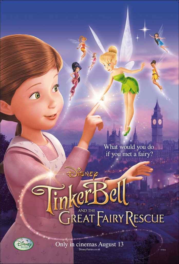 Tinker Bell and the Great Fairy Rescue - film review - MySF Reviews