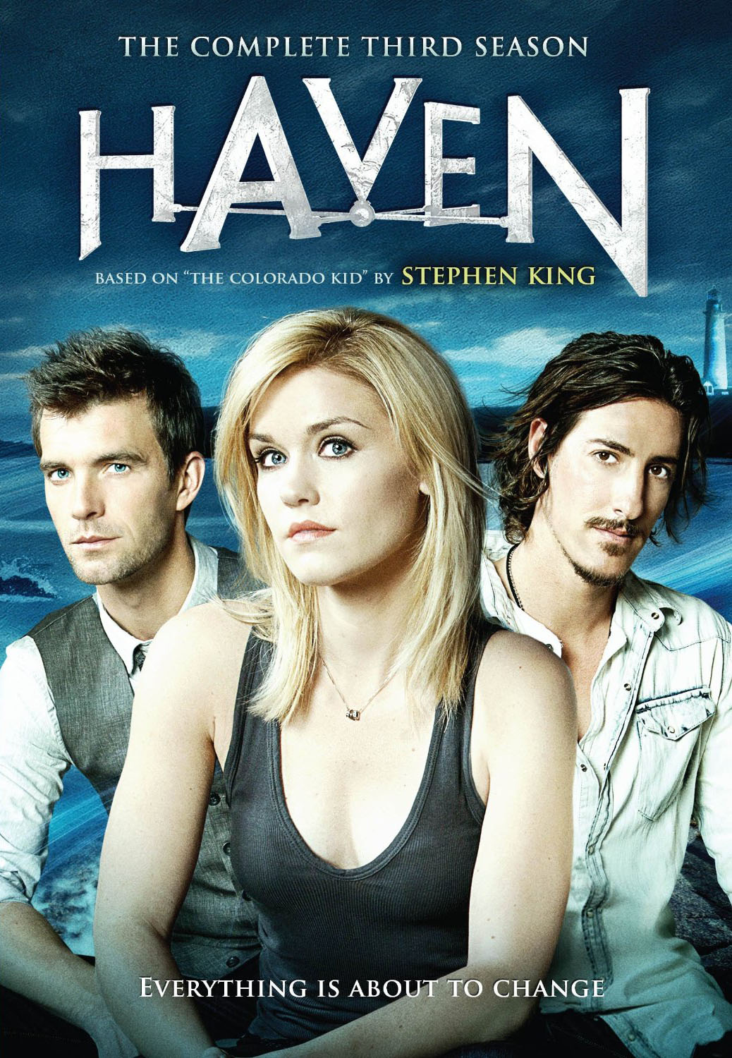 """Cover of Season Three collection for """"Haven""""."""