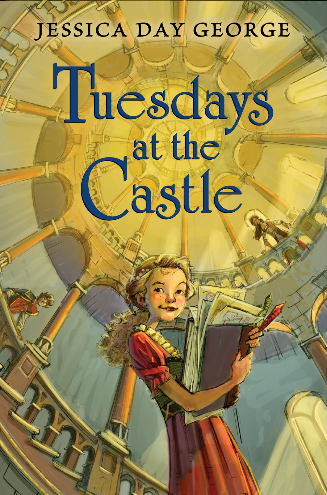 "Cover of ""Tuesdays at the Castle"" by Jessica Day George."