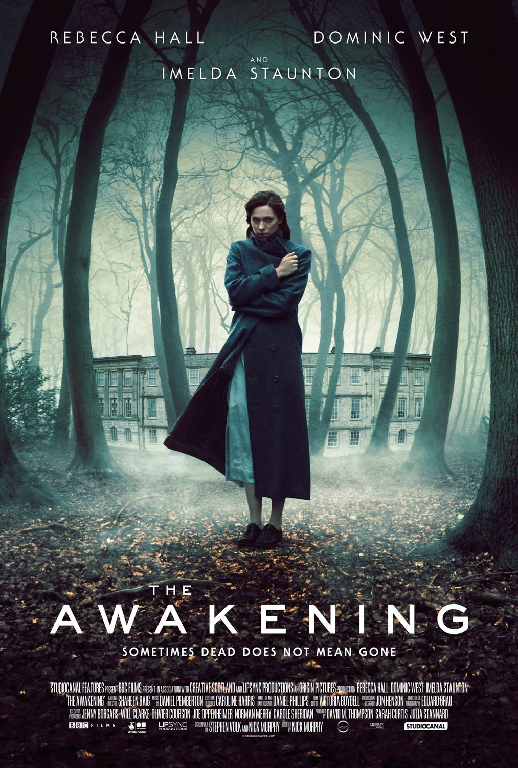 """Theatrical poster for """"The Awakening""""."""