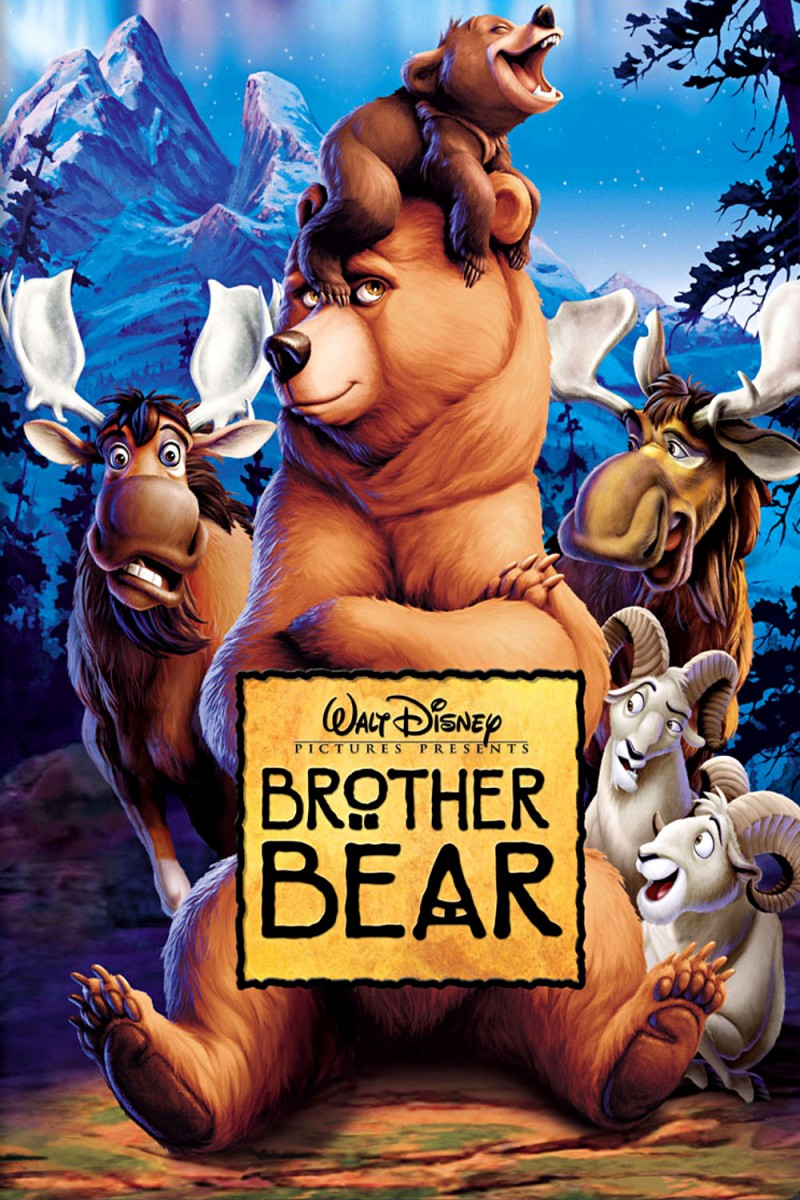 Movie Poster brother bear movie poster : MySF Reviews - Brother Bear