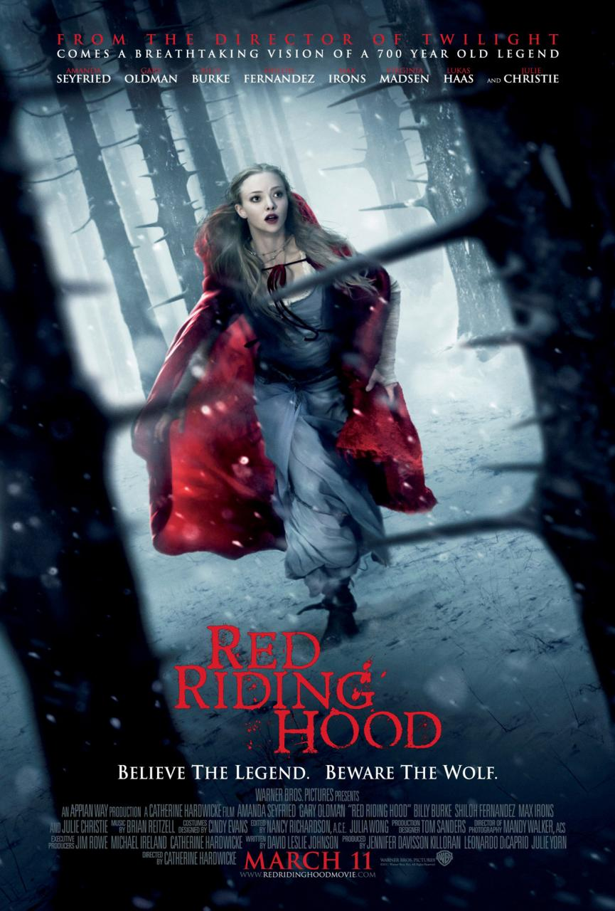 """""""Red Riding Hood"""" theatrical teaser poster."""