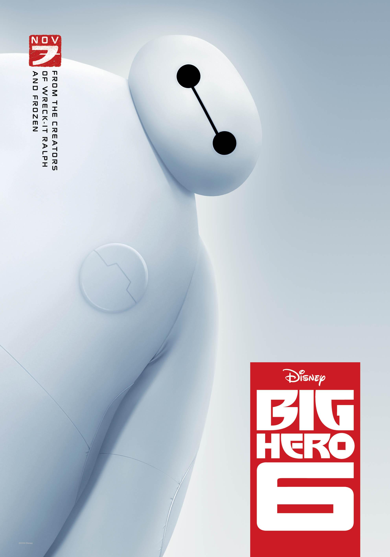 """""""Big Hero 6"""" poster."""
