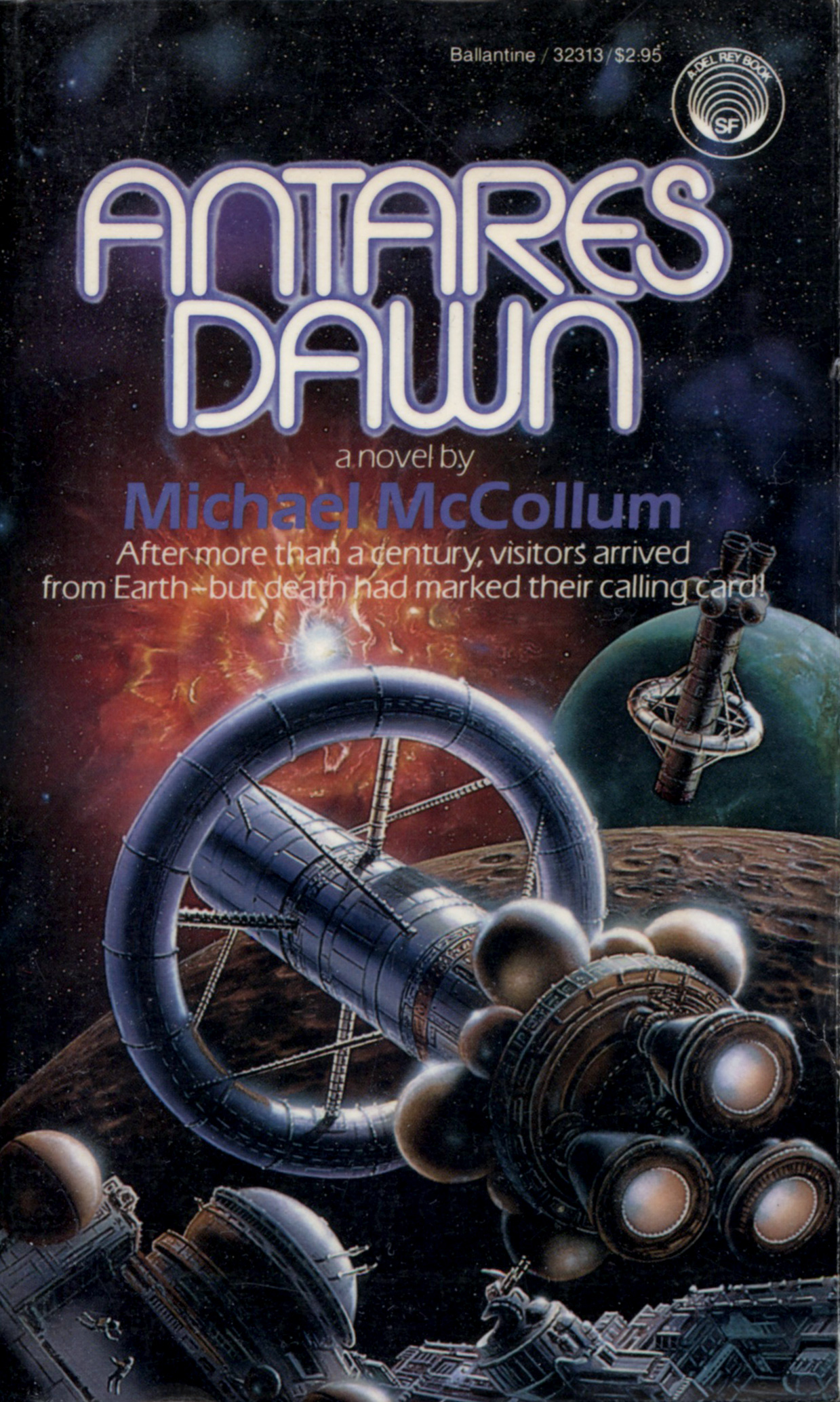 Antares Dawn By Michael Mccollum Book Review Mysf Reviews