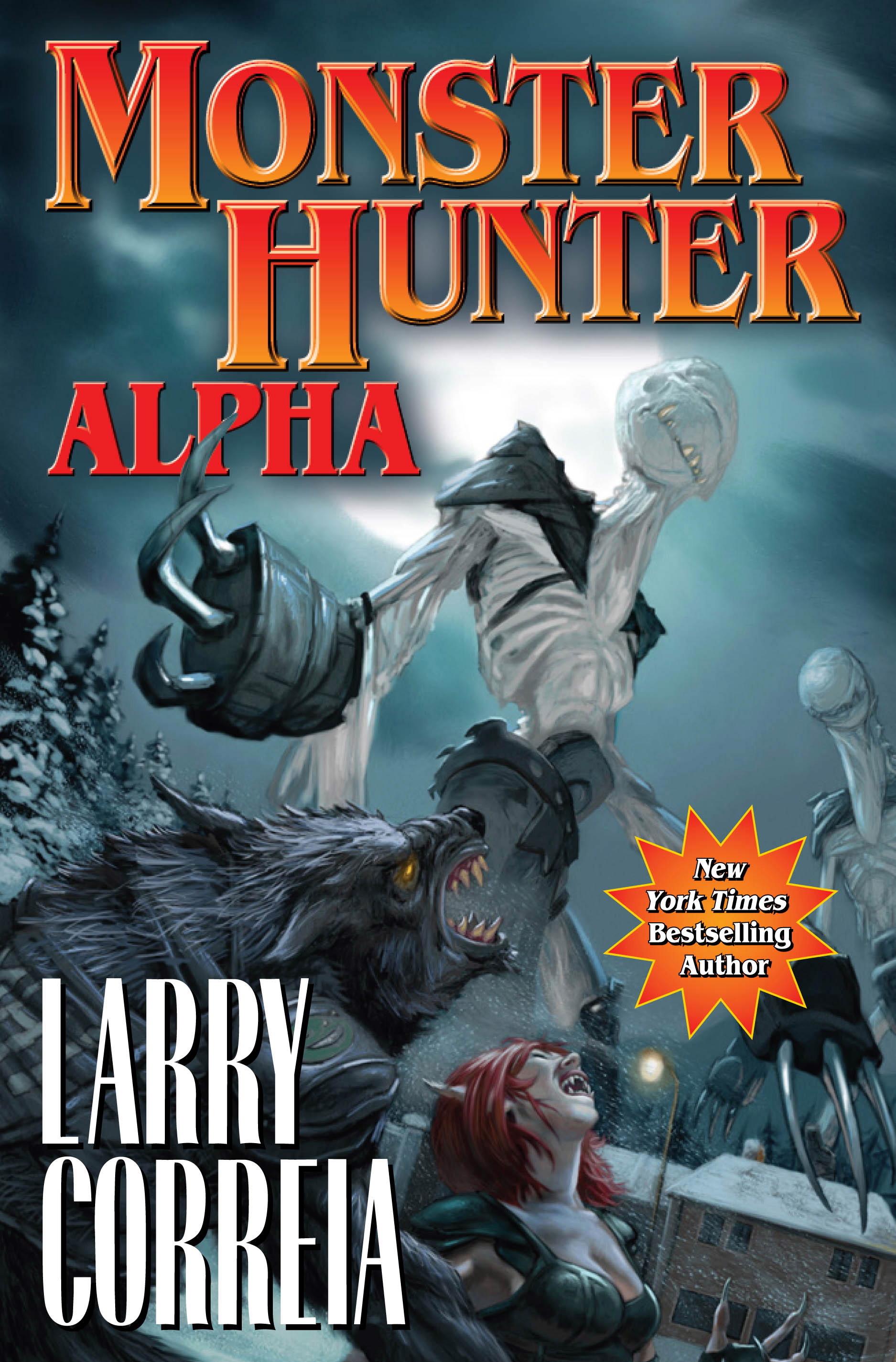 Monster Hunter Alpha cover