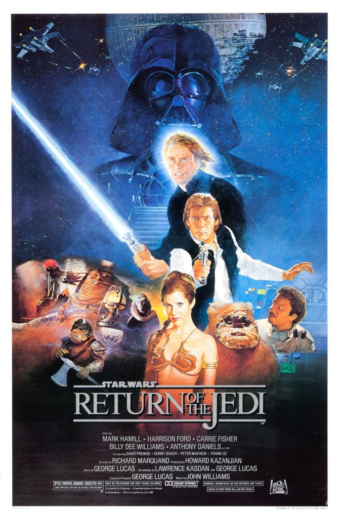 return of the jedi - film review
