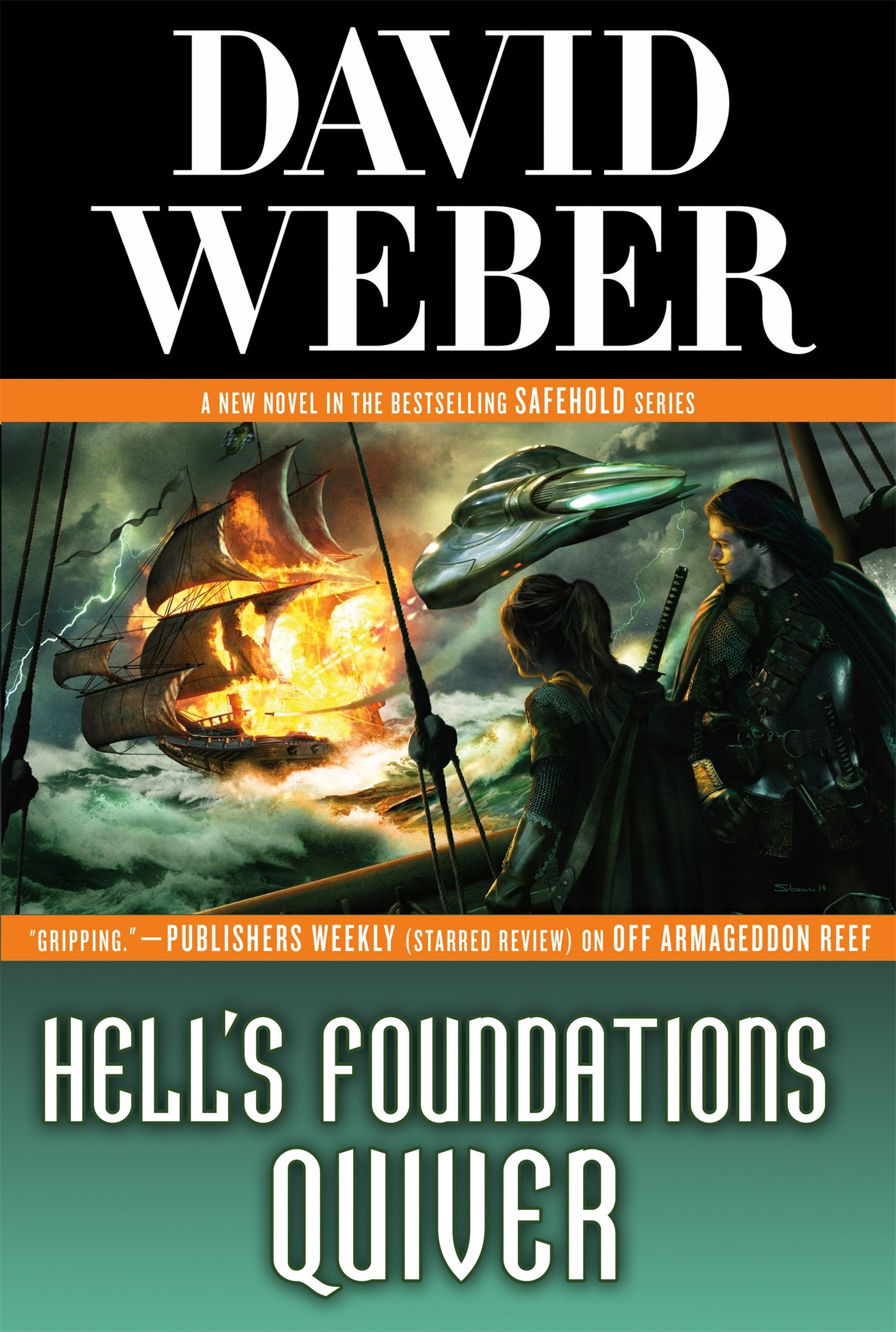 """""""Hell's Foundations Quiver"""" by David Weber."""