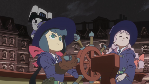 """""""Little Witch Academia - The Enchanted Parade"""" - screenshot."""