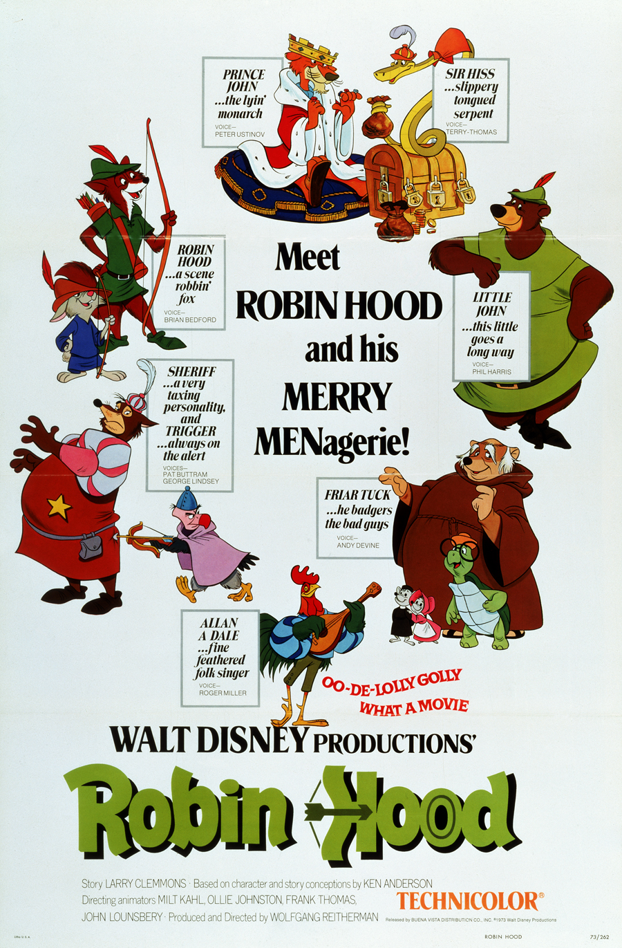 """""""Robin Hood"""" theatrical poster."""