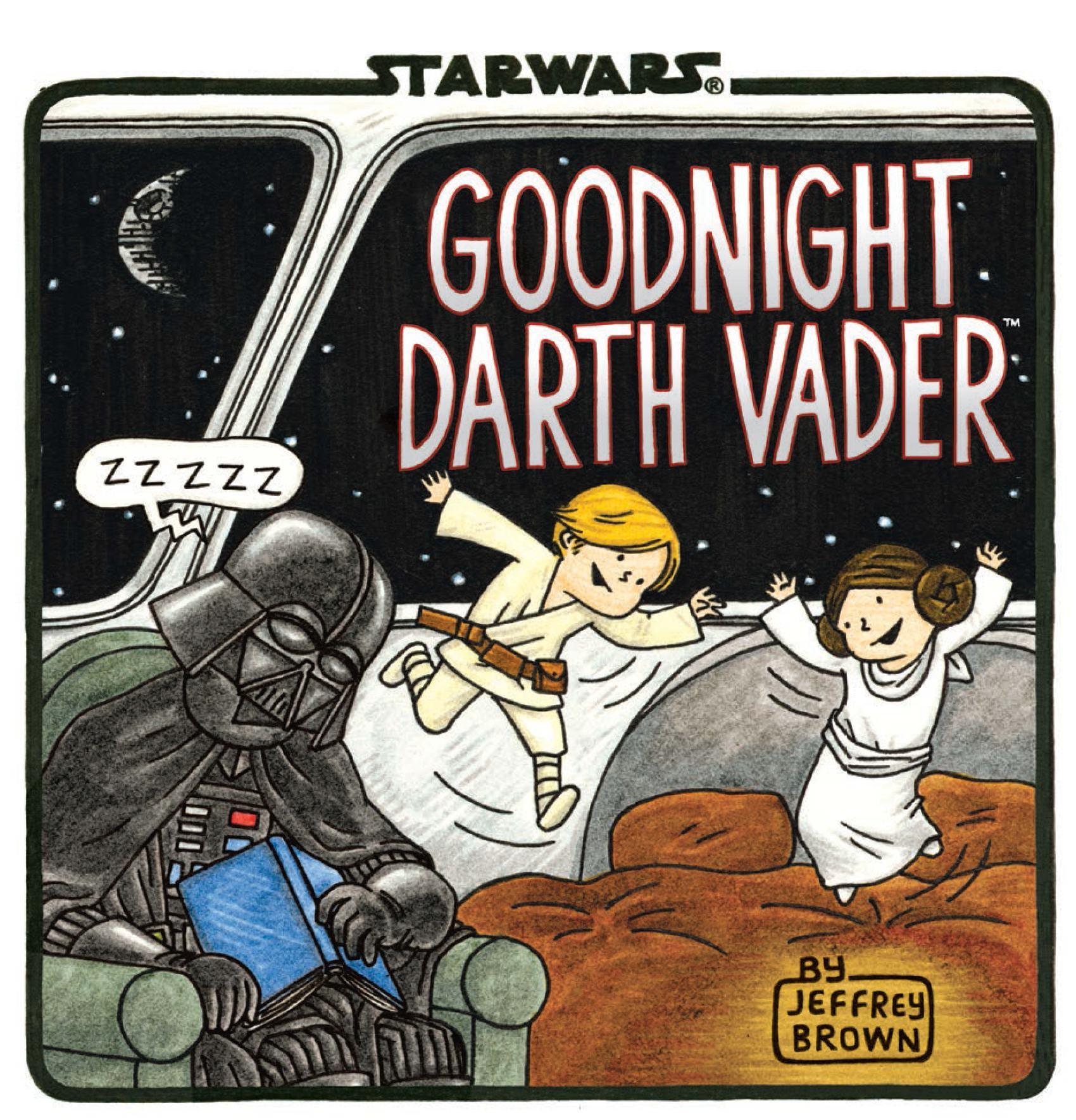 """Goodnight Darth Vader"" by Jeffrey Brown."