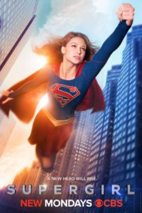 """""""Supergirl"""" 2015 television series poster."""