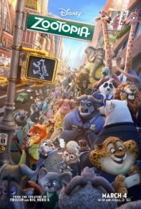 """Zootopia"" theatrical teaser poster."