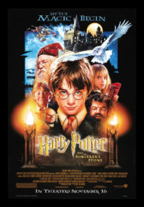 """""""Harry Potter and the Sorcerer's Stone"""" theatrical teaser poster."""