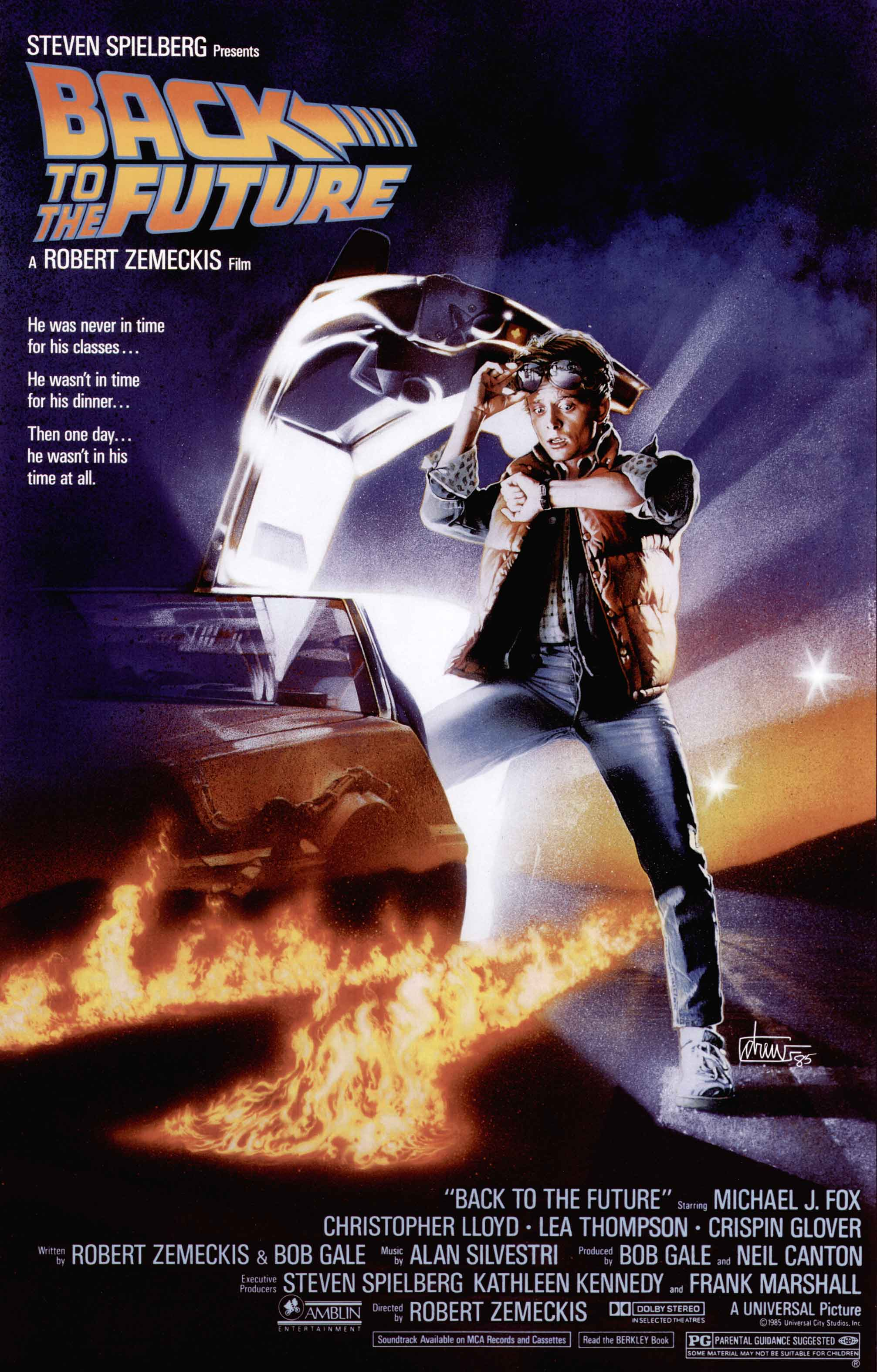Back to the Future - film review - MySF Reviews