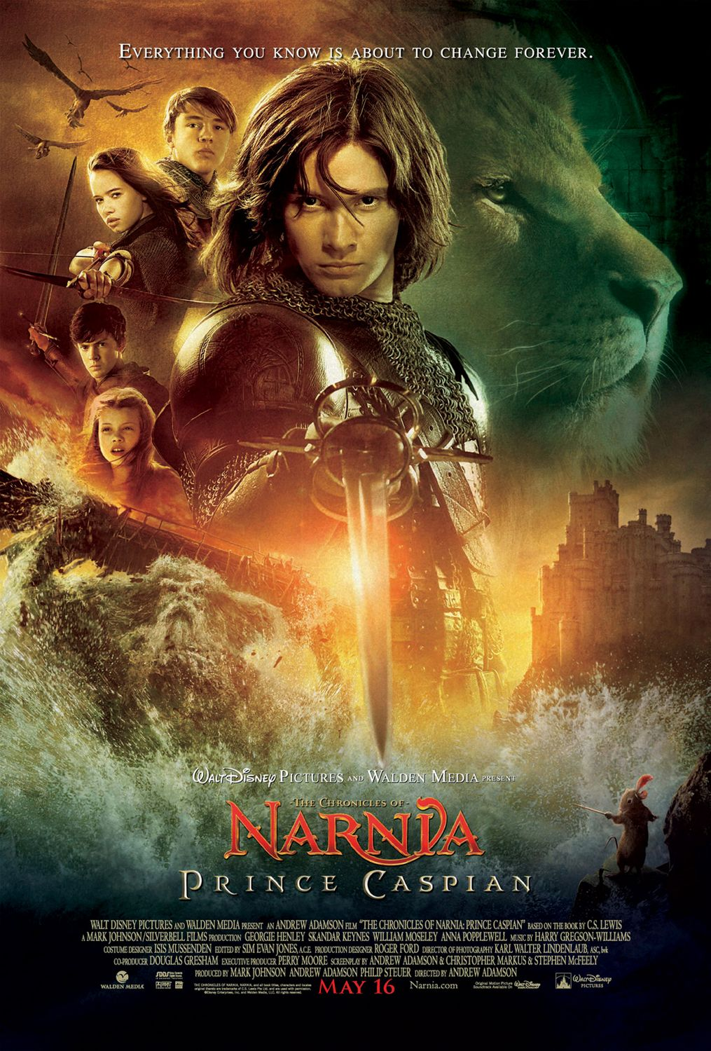 Movie reviews of prince caspian
