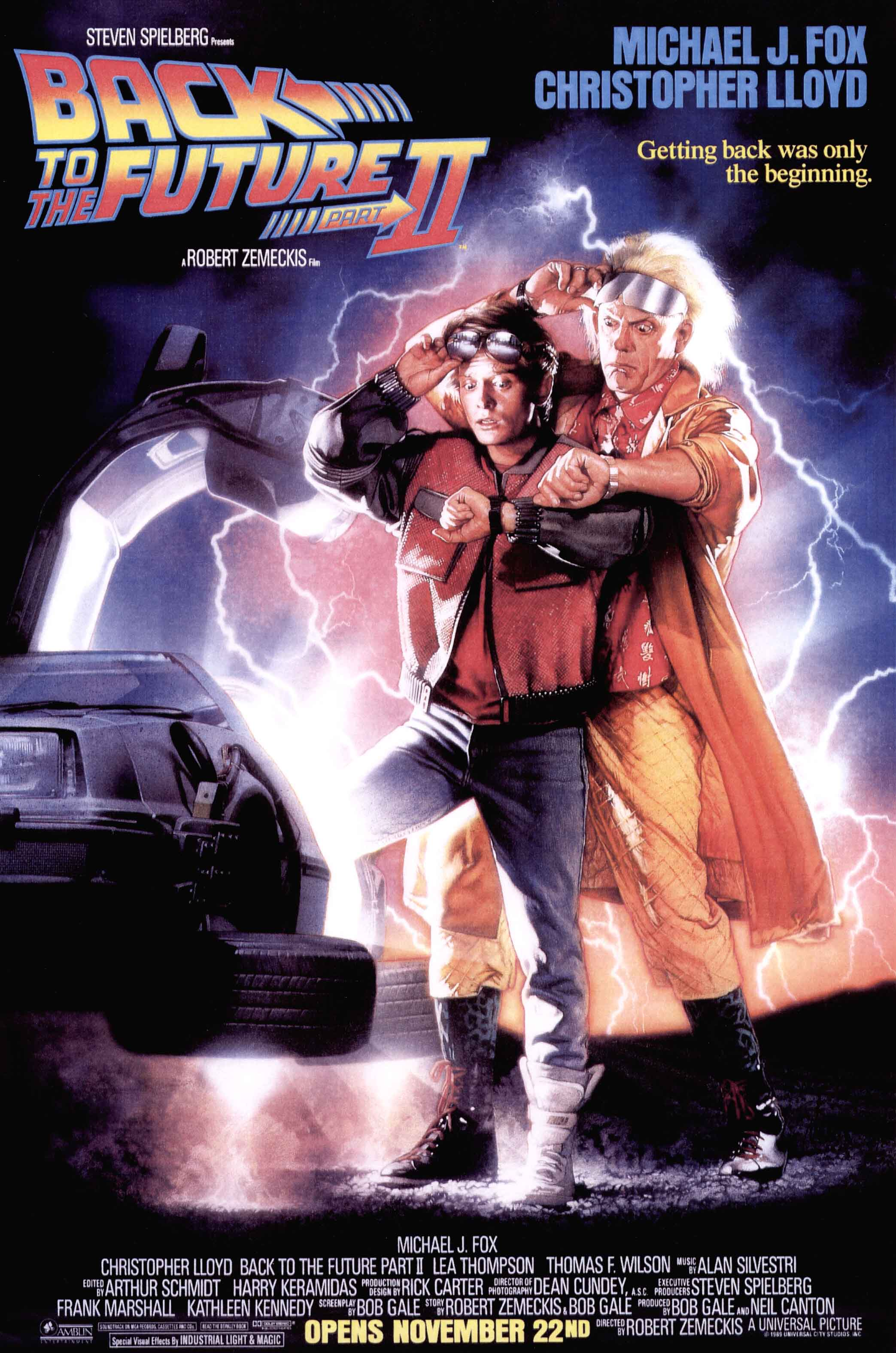 Back to the Future Part II - film review - MySF Reviews