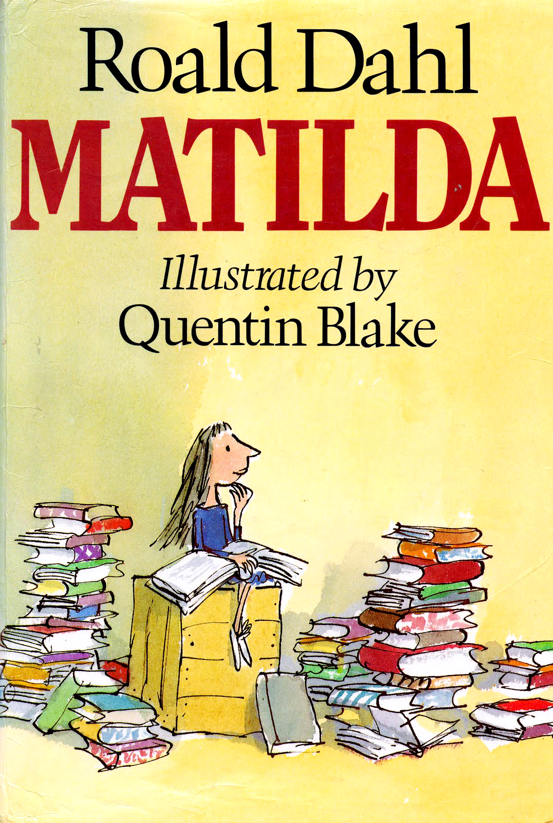 Kids Story Book Cover : Matilda by roald dahl children s book review mysf reviews
